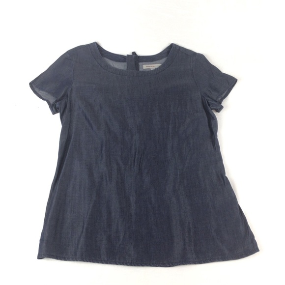 BANANA REPUBLIC Heritage Blue like Denim Blouse 4